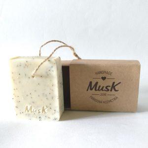 Makové mydlo Musk