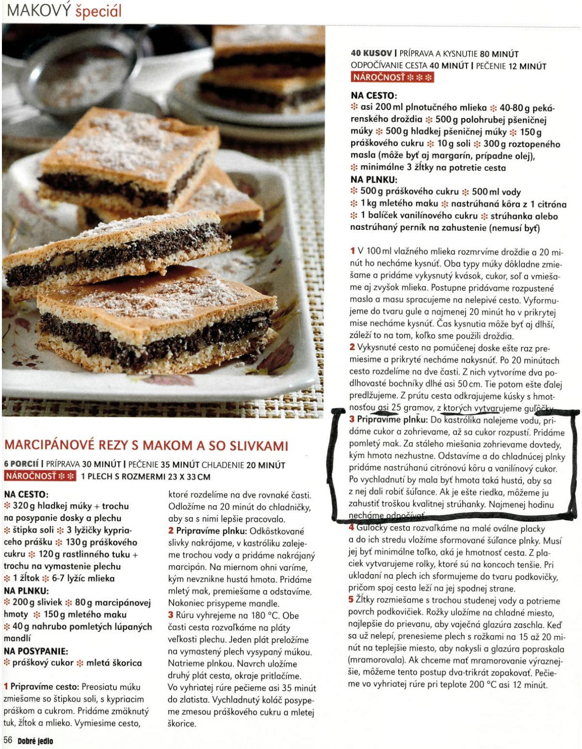 Mak z Jarnej - Gabriela Čechovičová - Dobré jedlo, vydanie November 2014